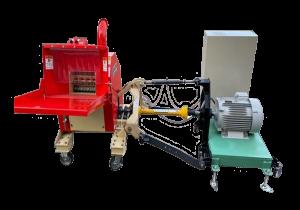 屋内型 電動モーターPTO式